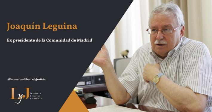 Joaquín Leguina Libertad y Justicia